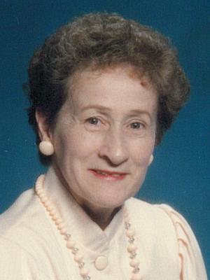 Mme Jeannette Boyer Poirier