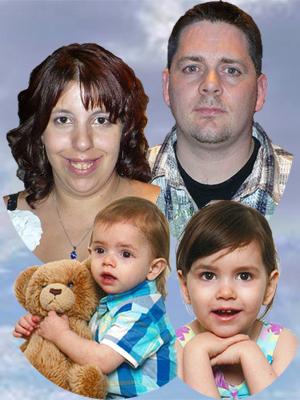 Famille de Patrick Gagnon et Karine Desrochers-Gauthier